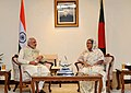 One on one meeting between the Prime Minister, Shri Narendra Modi and the Prime Minister of Bangladesh, Ms. Sheikh Hasina, in Dhaka, Bangladesh on June 06, 2015.jpg