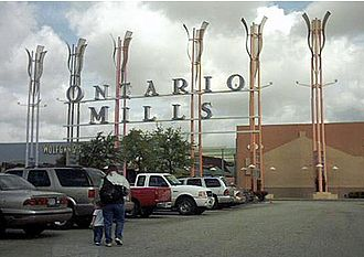 Ontario, California - Ontario Mills in March 2005.