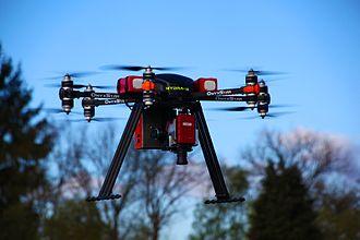 Hyperspectral imaging - Hyperspectral camera embedded on OnyxStar HYDRA-12 UAV from AltiGator