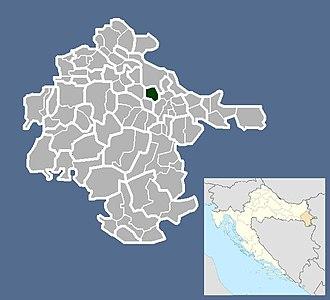 Negoslavci - Image: Općina Negoslavci Општина Негославци