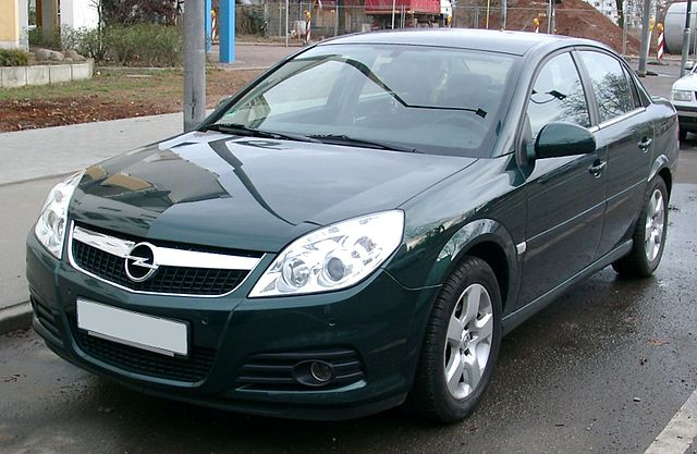 File opel vectra front wikimedia commons for Opel vectra c salonas