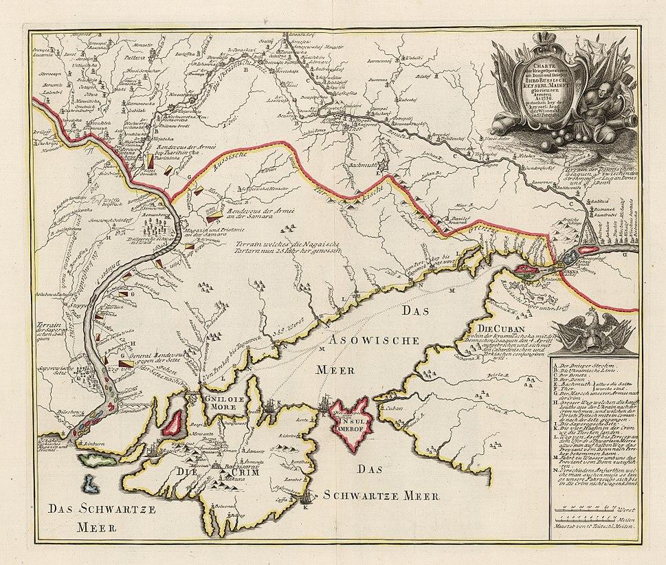 Operationen am Donn und Dnieper 1736