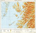 Ordnance Survey Quarter-inch sheet 4 Western Highlands, published 1967.jpg