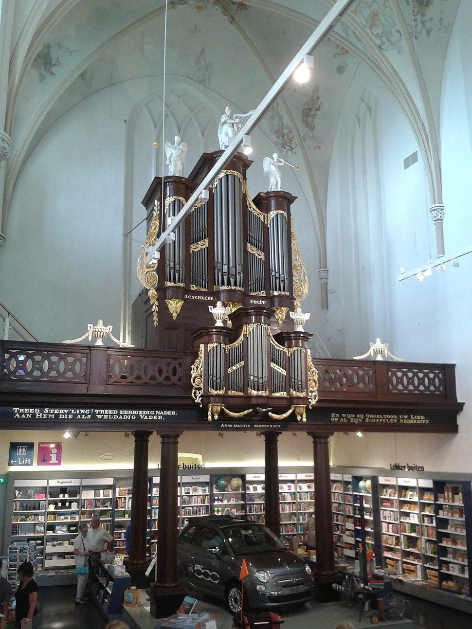 Organ in Broerenkerk, Zwolle, 2013