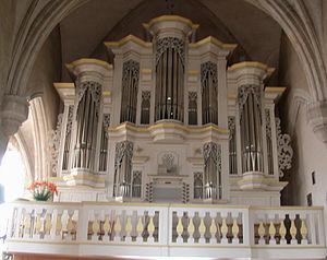 Gilles Cantagrel - Image: Orgue de l'église de Pontaumur