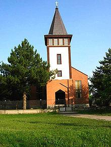 Католическая церковь в селе