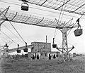 Oroszlány 1968, Oroszlányi Hőerőmű Vállalat szénszállító drótkötélpályája. Fortepan 97609.jpg
