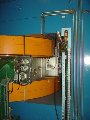 Synchrocyclotron - A part of the former Orsay synchrocyclotron