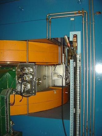 Synchrocyclotron - A part of the former Orsay synchrocyclotron