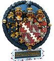 Ortenburg Marktkirche - Totenschild Anton von Ortenburg.jpg