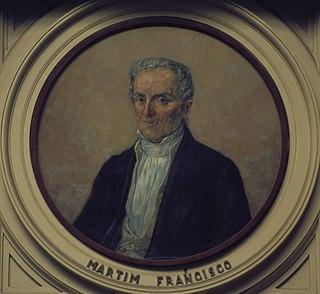 Martim Francisco Ribeiro de Andrada Brazilian politician
