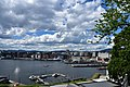 Oslo harbor from Akershus Fortress (2) (36328229341).jpg