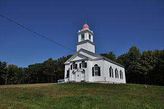 Bell Hill Meetinghouse United States historic place