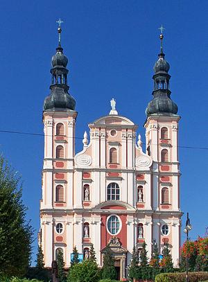 Otmuchów - Image: Otmuchów Kościół pw. św. Mikołaja i Franciszka Ksawerego 01