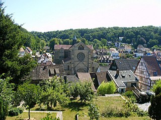 Otterberg Place in Rhineland-Palatinate, Germany