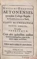 Oughtred - Clavis mathematicae, 1652 - BEIC 4625537.tiff