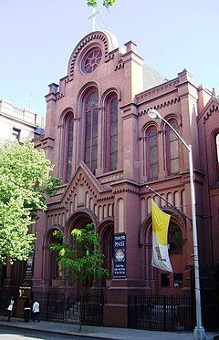 Our Lady of the Scapular-St. Stephen 28th Street facade.jpg