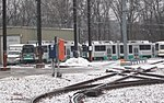 Out of service Type 8 cars at Riverside Yard, December 2017.JPG
