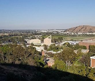 California State Polytechnic University, Pomona - the top view of Cal Poly Pomona