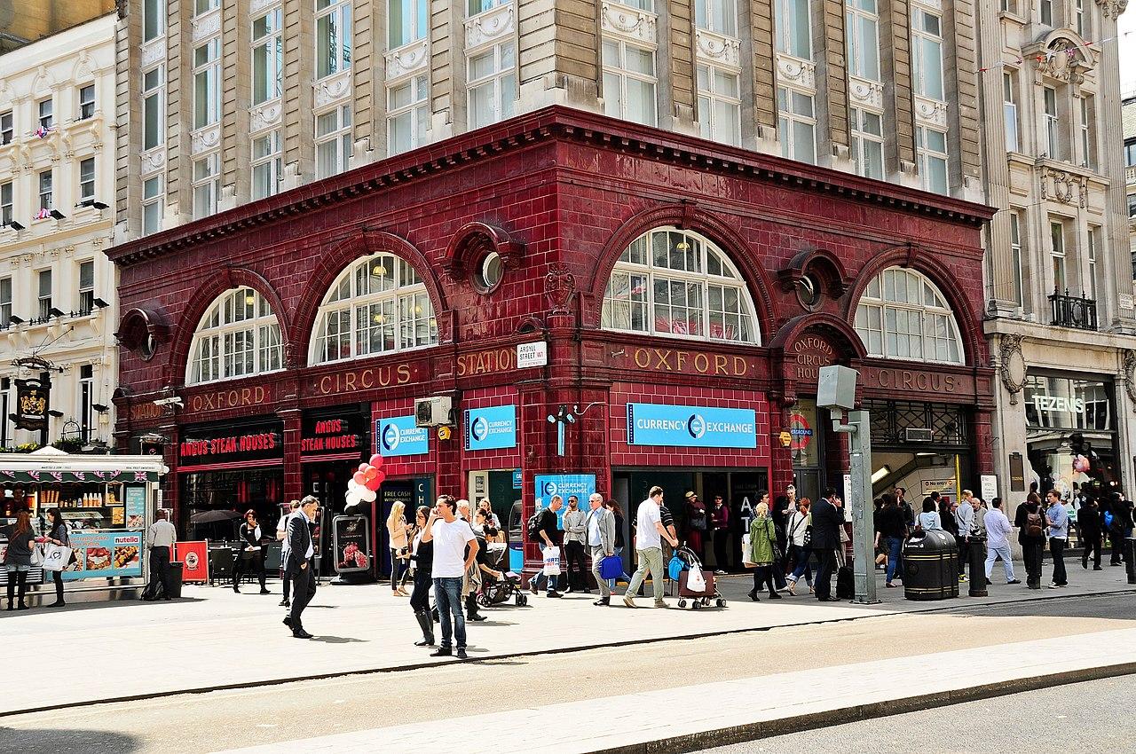 File Oxford Circus Tube Station London Jpg Wikimedia