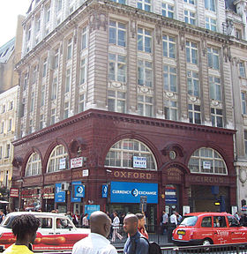 Image illustrative de l'article Oxford Circus (métro de Londres)