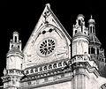 P1300431 Paris Ier eglise St-Eustache transept sud cadran bw rwk.jpg