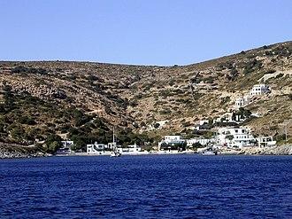 Agathonisi - Agathonisi, with the small harbor of Agios Georgios