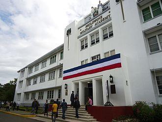 Philippine Military Academy - Image: PMA Facade