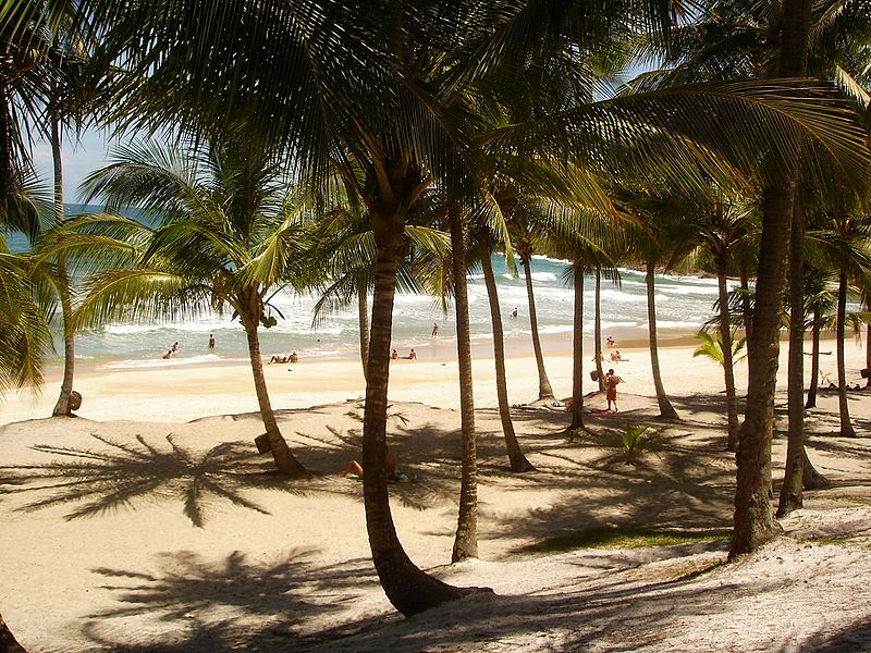 Praias bonitas na Bahia