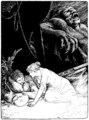 Page facing 190 illustration in More Celtic Fairy Tales.png