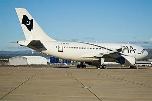 Pakistan International Airlines Airbus A310-300 CBR Gilbert.jpg