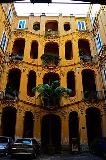 Barocco napoletano wikipedia for Palazzo in stile spagnolo