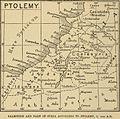 Palestine, Ptolemy, Claude R Conder, 1889.jpg