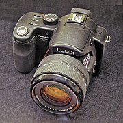 The Panasonic DMC-FZ50 bridge digital camera