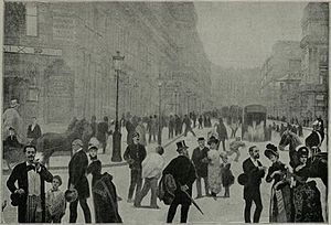 Corruption in Venezuela - A 1889 image of Guzmán in Paris, France. He is in the foreground, third from the left.