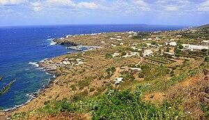 Pantelleria - Panorama of Pantelleria