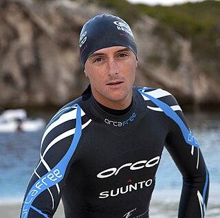 William Trubridge New Zealand freediver and record holder