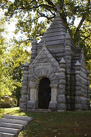 Bellefontaine Cemetery - Paramore Mausoleum