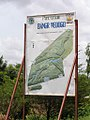 Parc Urbain Bangr-Weoogo map sign, Burkina Faso, 2008.jpg