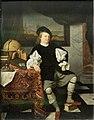 Paris - Musée du Louvre - Eglon van der Neer - Portrait d'un négociant dans son cabinet - INV 1932 - 001.jpg