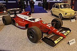 Paris - Retromobile 2014 - BMS Dallara Formule 1 - 1989 - 002.jpg