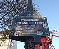 Paris 9e - Promenade Roland Lesaffre - Plaque (déc 2018).jpg