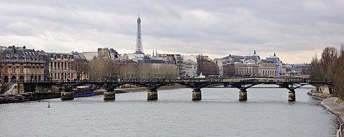 Puente de las artes wikipedia la enciclopedia libre - Cadenas amoureux pont paris ...
