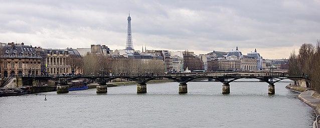 Pont des arts wikip dia - Cadenas amoureux pont paris ...