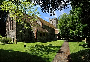 Alton Pancras - Image: Parish Church of St Pancras Alton Pancras geograph.org.uk 887132