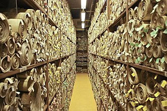 Scroll - Rolls recording UK Acts of Parliament held in the Parliamentary Archives, Palace of Westminster, London