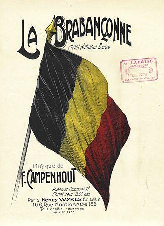 La Brabançonne - Image: Partition 9