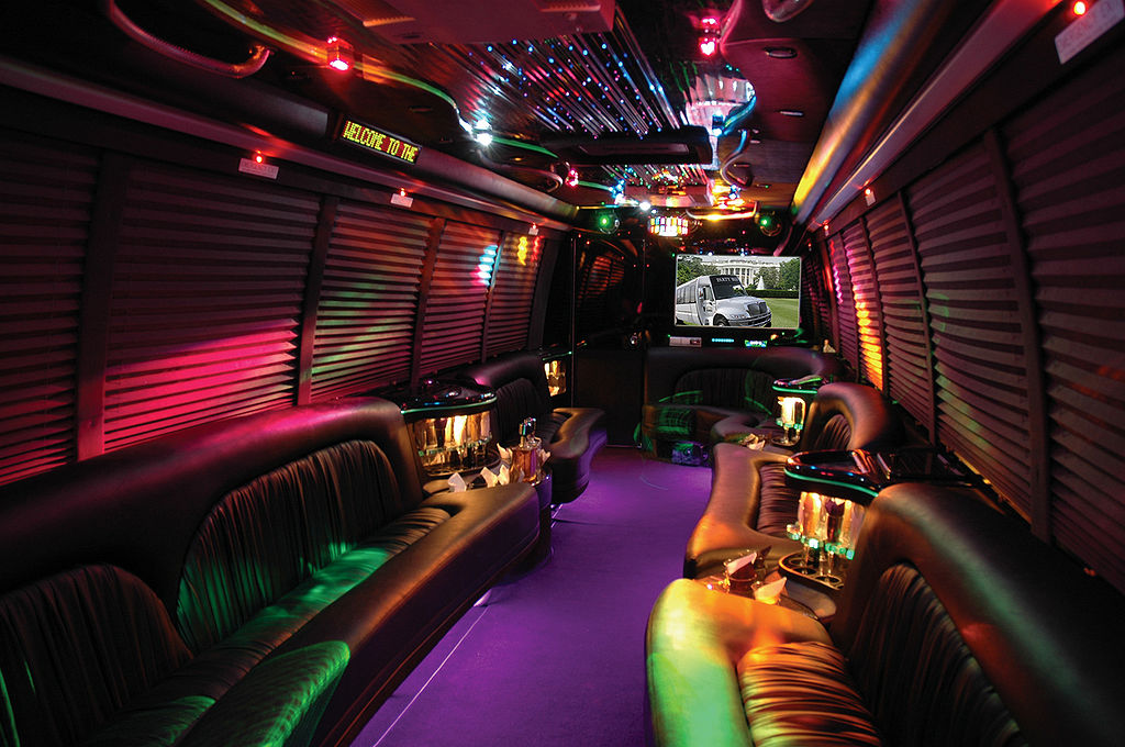 Kids Party Bus Greenville Sc