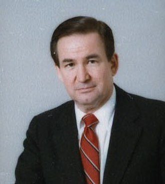 Reform Party of the United States of America - Image: Pat Buchanan 1985