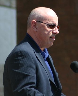Patrick LaForge - Patrick LaForge at an Edmonton Oilers Community Appreciation event, 2006